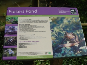 Porters Pond Notice Board