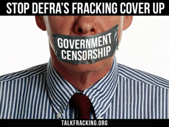 Release the Fracking Report IN FULL