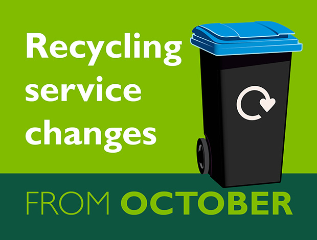 Changes to WODC recycling service